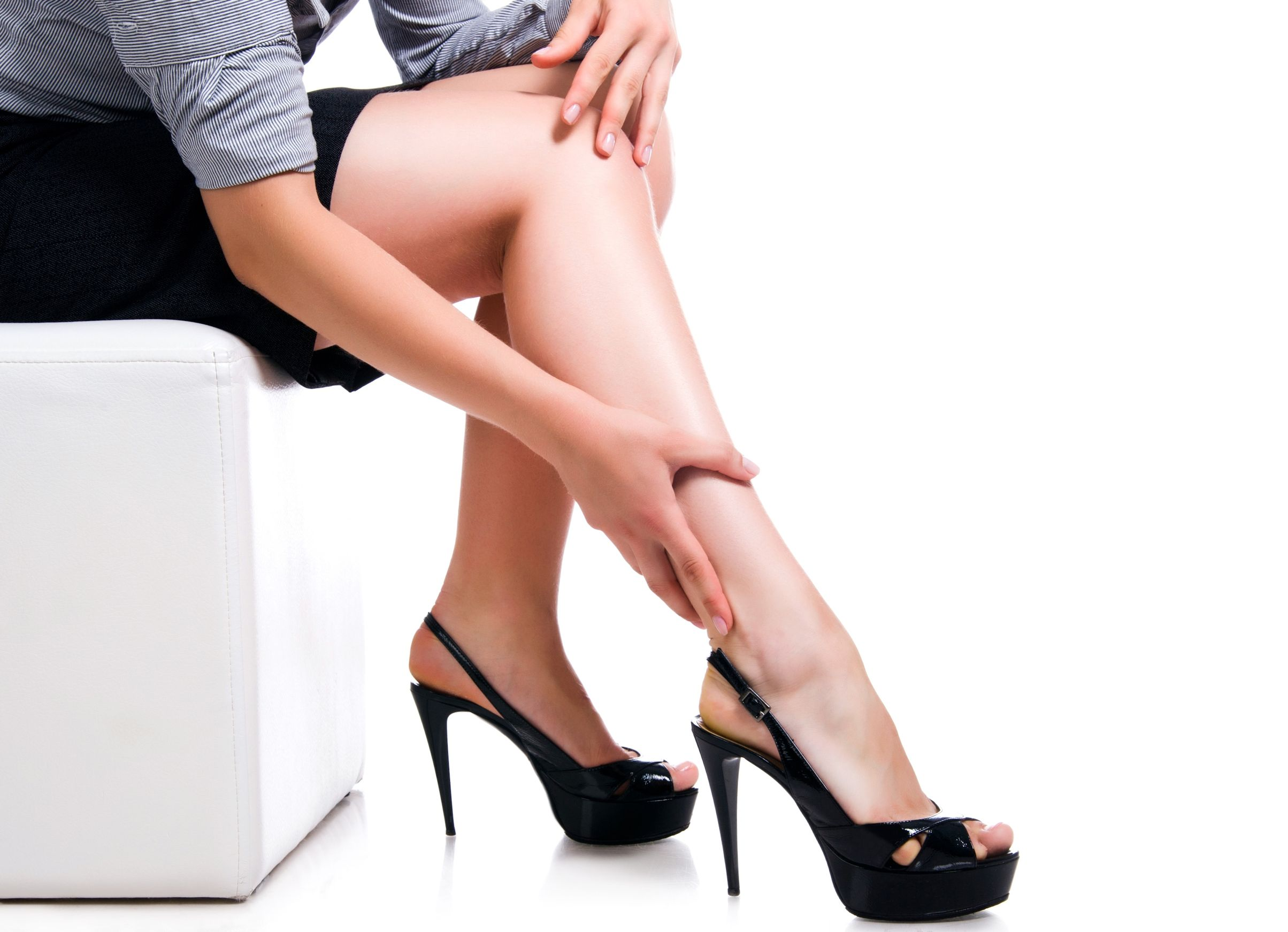 how to get slim legs in a month
