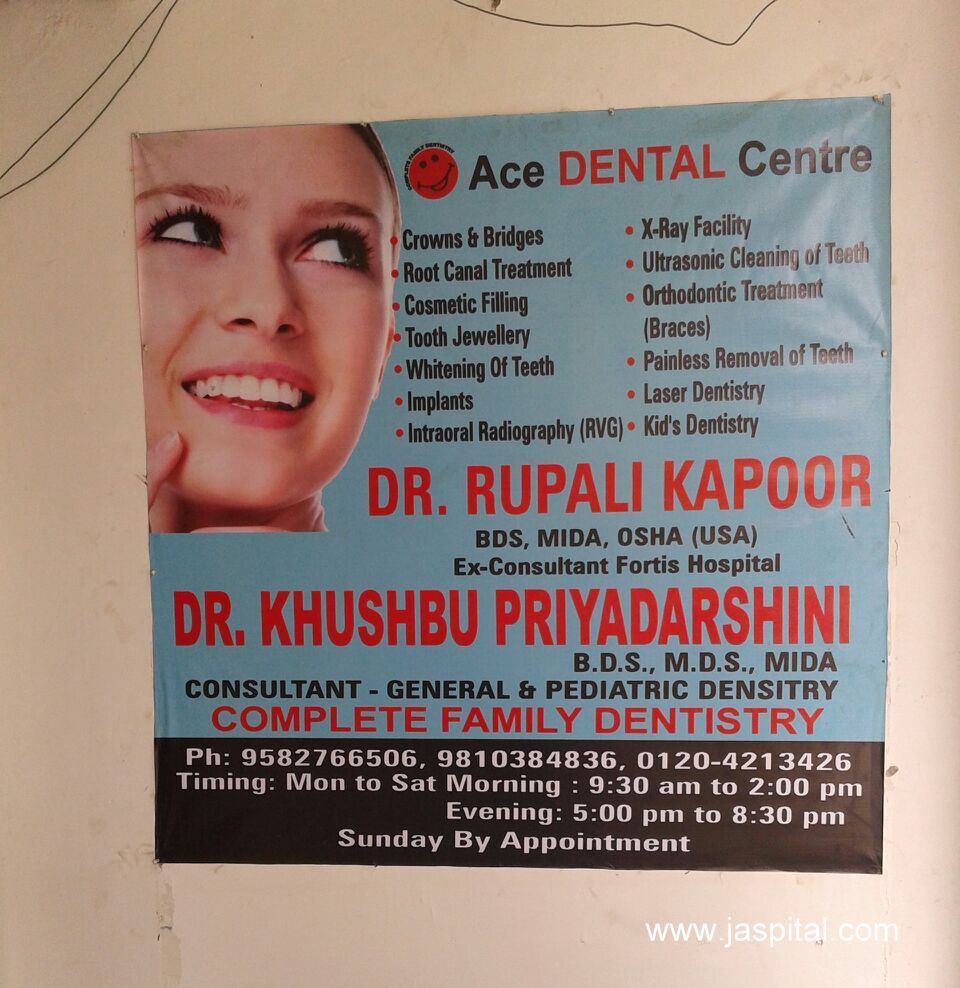 4123c6316 ACE Dental Centre in Sector 41, Noida - Online Appointment | Jaspital